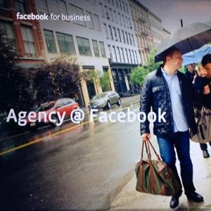 Agency @ Facebook