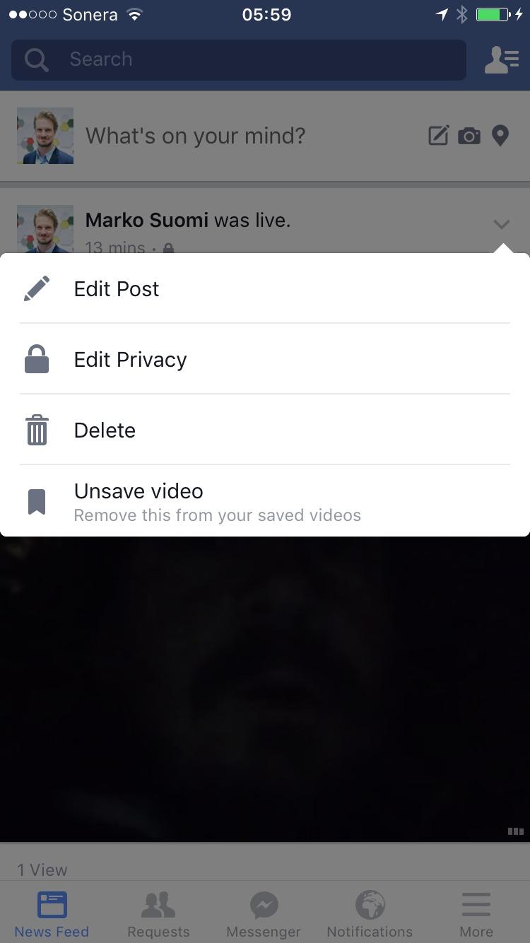 lopeta facebook Kankaanpaa