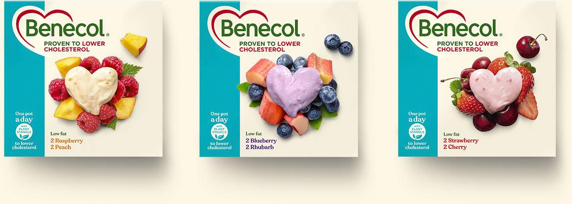 Benecol 3 tuotetta